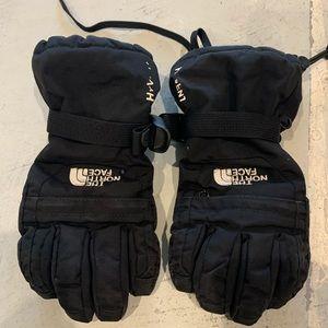 Boys North Face winter gloves